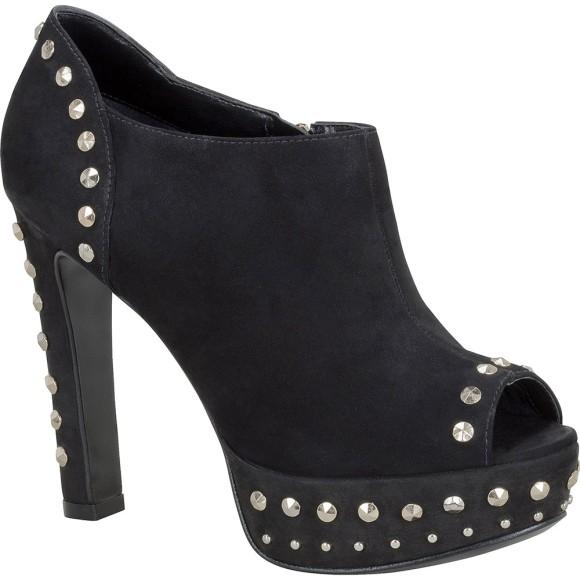 Open Boot My Shoes Tachas - Preto - Tamanho 38