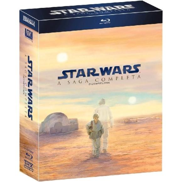 Blu-ray Coleção Star Wars: A Saga Completa (9 Discos)