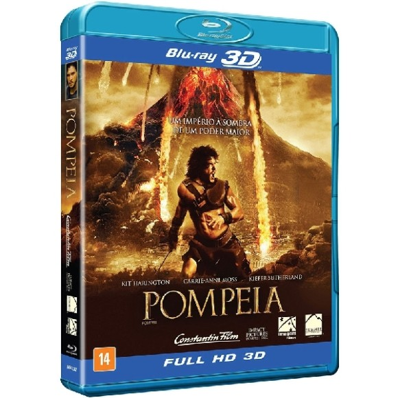 Blu-ray 3D - Pompeia